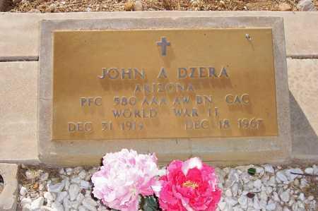 DZERA, JOHN A. - Gila County, Arizona   JOHN A. DZERA - Arizona Gravestone Photos