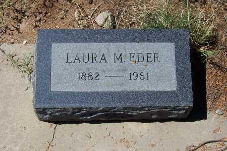 EDER, LAURA M. - Gila County, Arizona | LAURA M. EDER - Arizona Gravestone Photos