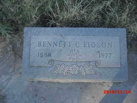 EIDSON, BENNETT  C. - Gila County, Arizona | BENNETT  C. EIDSON - Arizona Gravestone Photos