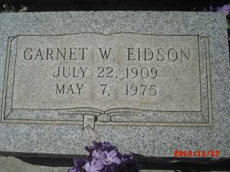 EIDSON, GARNET W. - Gila County, Arizona   GARNET W. EIDSON - Arizona Gravestone Photos