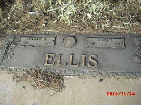 ELLIS, GEORGE - Gila County, Arizona | GEORGE ELLIS - Arizona Gravestone Photos