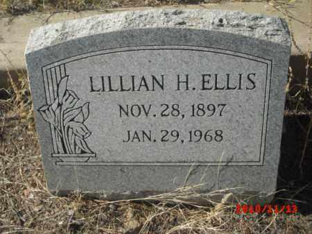 ELLIS, LILLIAN H. - Gila County, Arizona   LILLIAN H. ELLIS - Arizona Gravestone Photos