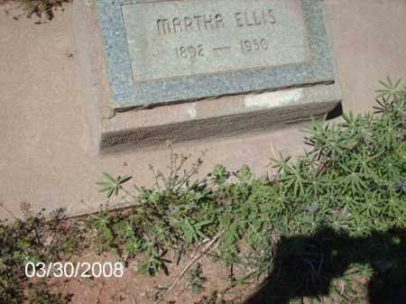 ELLIS, MARTHA - Gila County, Arizona | MARTHA ELLIS - Arizona Gravestone Photos