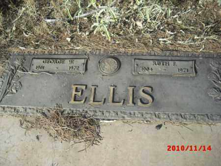 ELLIS, RUTH - Gila County, Arizona | RUTH ELLIS - Arizona Gravestone Photos