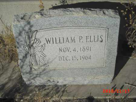 ELLIS, WILLIAM P. - Gila County, Arizona | WILLIAM P. ELLIS - Arizona Gravestone Photos