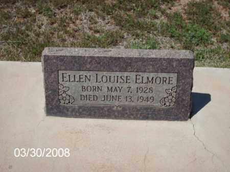 ELMORE, ELLEN LOUISE - Gila County, Arizona   ELLEN LOUISE ELMORE - Arizona Gravestone Photos