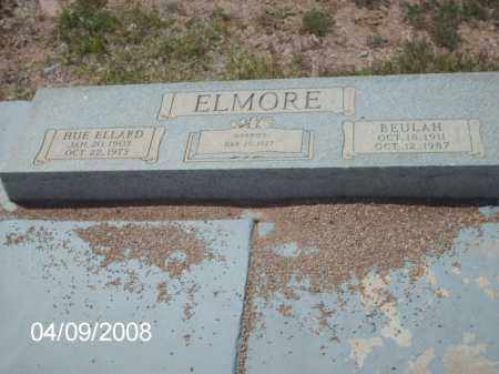 ELMORE, HUE ELLARD - Gila County, Arizona   HUE ELLARD ELMORE - Arizona Gravestone Photos