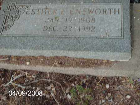 ENSWORTH, ESTHER - Gila County, Arizona | ESTHER ENSWORTH - Arizona Gravestone Photos