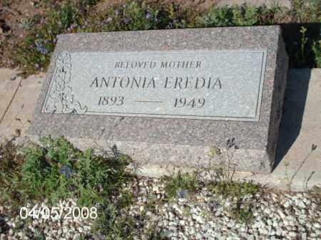 EREDIA, ANTONIA - Gila County, Arizona | ANTONIA EREDIA - Arizona Gravestone Photos