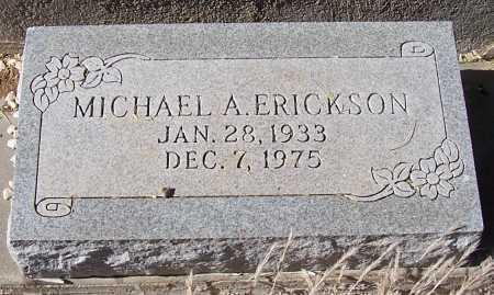 ERICKSON, MICHAEL A. - Gila County, Arizona | MICHAEL A. ERICKSON - Arizona Gravestone Photos