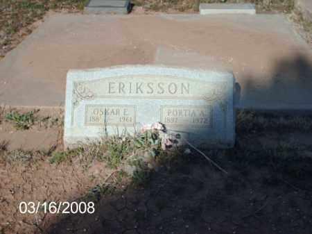 ERIKSSON, OSCAR - Gila County, Arizona | OSCAR ERIKSSON - Arizona Gravestone Photos