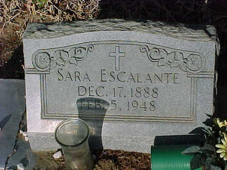 ESCALANTE, SARA - Gila County, Arizona | SARA ESCALANTE - Arizona Gravestone Photos