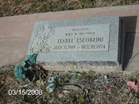 ESCOBEDO, ISABEL - Gila County, Arizona | ISABEL ESCOBEDO - Arizona Gravestone Photos