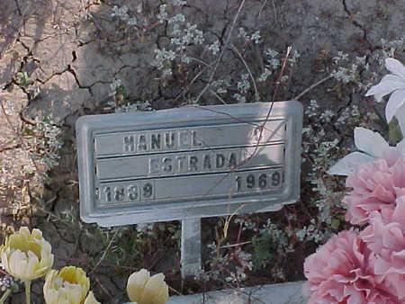 ESTRADA, MANUEL  SINOHUI - Gila County, Arizona   MANUEL  SINOHUI ESTRADA - Arizona Gravestone Photos