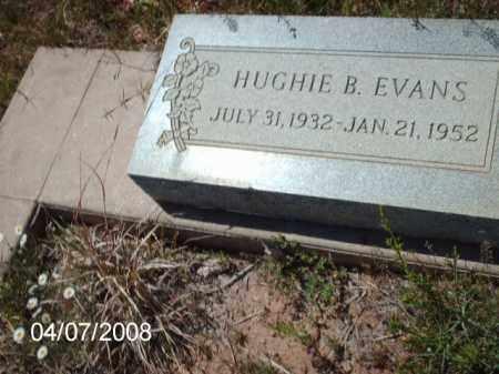 EVANS, HUGHIE B. - Gila County, Arizona | HUGHIE B. EVANS - Arizona Gravestone Photos