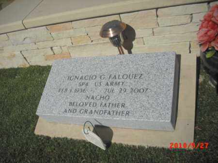 FALQUEZ, IGNACIO G. - Gila County, Arizona | IGNACIO G. FALQUEZ - Arizona Gravestone Photos