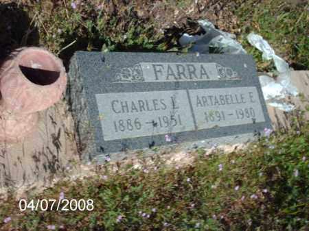 FARRA, CHARLES - Gila County, Arizona | CHARLES FARRA - Arizona Gravestone Photos