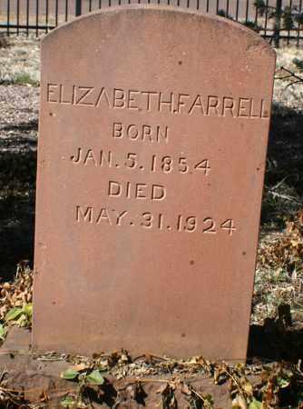WILCHER FARRELL, ELIZABETH - Gila County, Arizona   ELIZABETH WILCHER FARRELL - Arizona Gravestone Photos