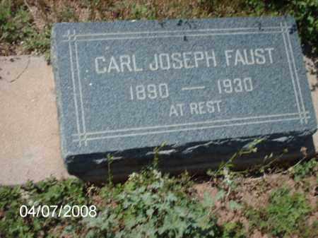 FAUST, CARL - Gila County, Arizona | CARL FAUST - Arizona Gravestone Photos