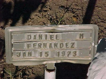 FERNANDEZ, DANIEL  M. - Gila County, Arizona   DANIEL  M. FERNANDEZ - Arizona Gravestone Photos