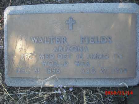 FIELDS, WALTER - Gila County, Arizona | WALTER FIELDS - Arizona Gravestone Photos