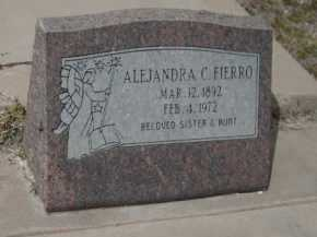FIERRO, ALEJANDRA - Gila County, Arizona | ALEJANDRA FIERRO - Arizona Gravestone Photos
