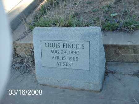 FINDEIS, LOUIS - Gila County, Arizona | LOUIS FINDEIS - Arizona Gravestone Photos