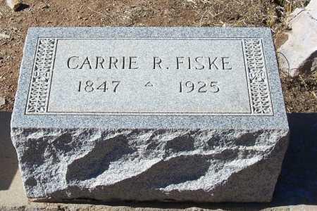 CAMPBELL FISKE, CARRIE REBECCA - Gila County, Arizona   CARRIE REBECCA CAMPBELL FISKE - Arizona Gravestone Photos