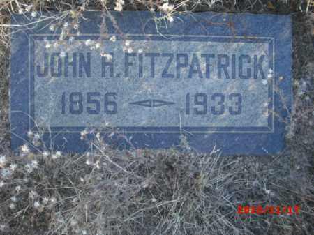 FITZPATRICK, JOHN H. - Gila County, Arizona | JOHN H. FITZPATRICK - Arizona Gravestone Photos
