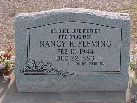 STEWART FLEMING, NANCY K. - Gila County, Arizona | NANCY K. STEWART FLEMING - Arizona Gravestone Photos