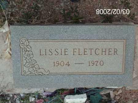 FLETCHER, LISSIE - Gila County, Arizona | LISSIE FLETCHER - Arizona Gravestone Photos