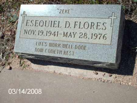 FLORES, ESEQUIEL - Gila County, Arizona | ESEQUIEL FLORES - Arizona Gravestone Photos