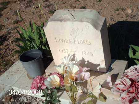 FLORES, ELVIRA - Gila County, Arizona   ELVIRA FLORES - Arizona Gravestone Photos