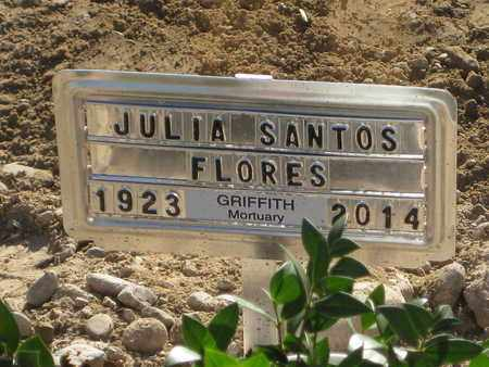 FLORES, JULIA - Gila County, Arizona | JULIA FLORES - Arizona Gravestone Photos