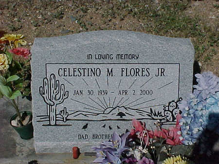 FLORES, CELESTINO  M., JR. - Gila County, Arizona | CELESTINO  M., JR. FLORES - Arizona Gravestone Photos