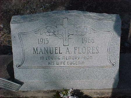 FLORES, MANUEL  A. - Gila County, Arizona | MANUEL  A. FLORES - Arizona Gravestone Photos