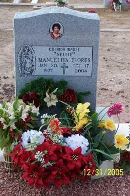 "FLORES, MANUELITA ""NELLIE"" - Gila County, Arizona | MANUELITA ""NELLIE"" FLORES - Arizona Gravestone Photos"