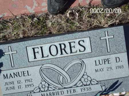 FLORES, MANUEL - Gila County, Arizona | MANUEL FLORES - Arizona Gravestone Photos