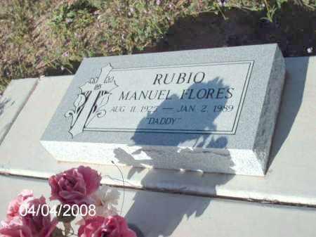 FLORES, RUBIO MANUEL - Gila County, Arizona | RUBIO MANUEL FLORES - Arizona Gravestone Photos