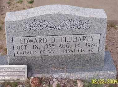 FLUHARTY, EDWARD D. - Gila County, Arizona | EDWARD D. FLUHARTY - Arizona Gravestone Photos