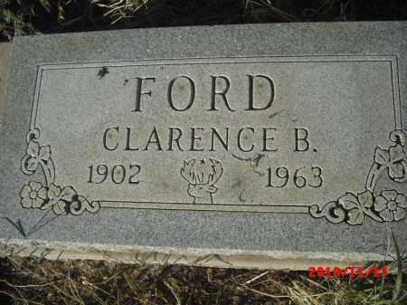 FORD, CLARENCE - Gila County, Arizona | CLARENCE FORD - Arizona Gravestone Photos