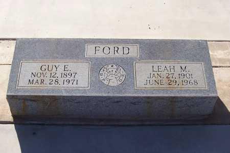 FORD, GUY E. - Gila County, Arizona | GUY E. FORD - Arizona Gravestone Photos