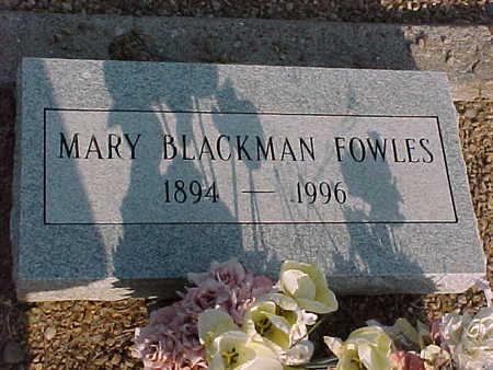 FOWLES, MARY - Gila County, Arizona | MARY FOWLES - Arizona Gravestone Photos