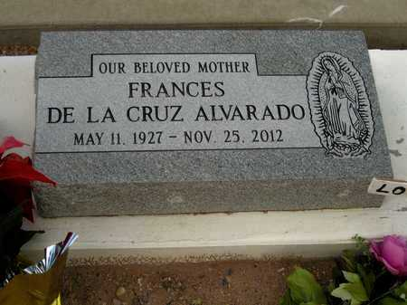 CRUZ FRANCES, ALVARADO - Gila County, Arizona | ALVARADO CRUZ FRANCES - Arizona Gravestone Photos