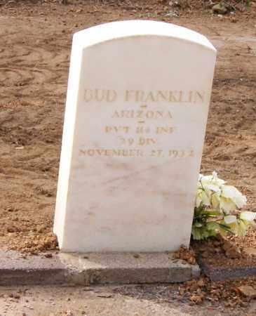 FRANKLIN, BUD - Gila County, Arizona   BUD FRANKLIN - Arizona Gravestone Photos