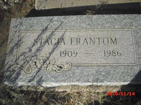 FRANTOM, STACIA - Gila County, Arizona   STACIA FRANTOM - Arizona Gravestone Photos
