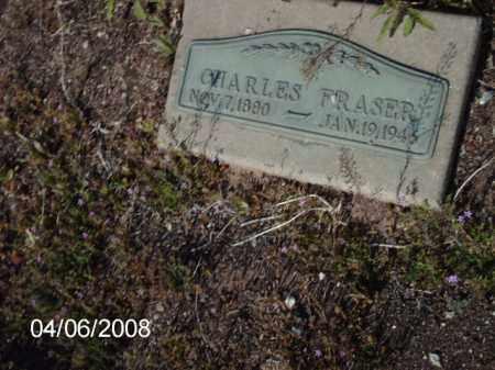 FRASER, CHARLES - Gila County, Arizona | CHARLES FRASER - Arizona Gravestone Photos