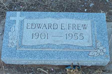 FREW, EDWARD E. - Gila County, Arizona | EDWARD E. FREW - Arizona Gravestone Photos