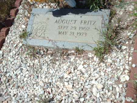 FRITZ, AUGUST - Gila County, Arizona | AUGUST FRITZ - Arizona Gravestone Photos