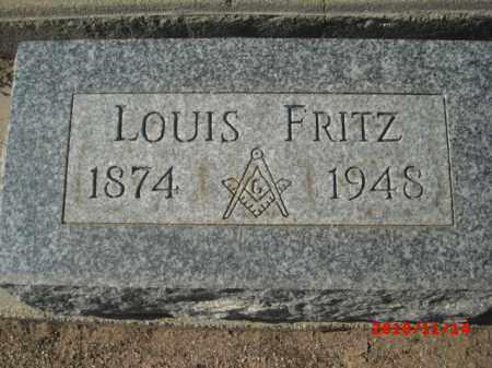 FRITZ, LOUIS - Gila County, Arizona | LOUIS FRITZ - Arizona Gravestone Photos